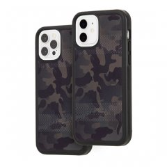 【Pelican × Case-Mate 抗菌仕様】iPhone 12 / iPhone 12 Pro Pelican Protector - Camo Green w/ Micropel