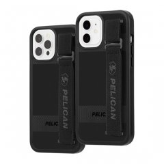 【Pelican × Case-Mate 抗菌仕様】iPhone 12 / iPhone 12 Pro Pelican Protector Sling - Black w/ Micropel