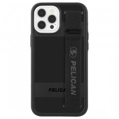 【Pelican × Case-Mate 抗菌仕様】iPhone 12 Pro Max Pelican Protector Sling - Black w/ Micropel