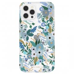 【RIFLE PAPER × Case-Mate】iPhone 12 / iPhone 12 Pro 共用 RIFLE PAPER - Garden Party Blue w/ Micropel