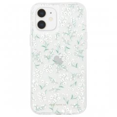 【RIFLE PAPER × Case-Mate】iPhone 12 mini RIFLE PAPER - Embellished Petite Fleurs w/ Micropel