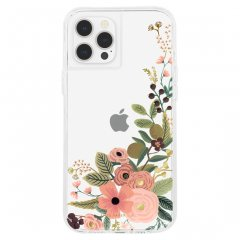 【RIFLE PAPER × Case-Mate】iPhone 12 Pro Max RIFLE PAPER - Clear Garden Party Rose w/ Micropel