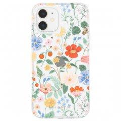 【RIFLE PAPER × Case-Mate】iPhone 12 mini RIFLE PAPER - Clear Strawberry Fields w/ Micropel