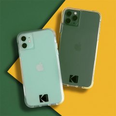 【Kodak × Case-Mate】iPhone 12 / iPhone 12 Pro 共用 Clear Case with Logo