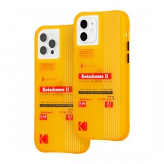 【Kodak × Case-Mate】iPhone 12 / iPhone 12 Pro 共用 Vintage Yellow