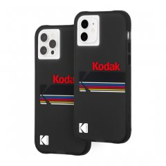 【Kodak × Case-Mate】iPhone 12 / iPhone 12 Pro 共用 Matte Black + Shiny Black Logo