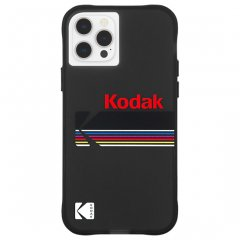 【Kodak × Case-Mate】iPhone 12 Pro Max Matte Black + Shiny Black Logo