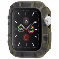 【Pelican × Case-Mate】Apple Watch 6,SE,5,4,3,2,1(38mm/40mm) 抗菌・耐衝撃バンパー Protector Bumper - Camo Green