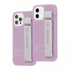 【Pelican × Case-Mate 抗菌仕様】iPhone 12/12 Pro 共用 Pelican Protector Sling - Mauve Purple w/ Micropel