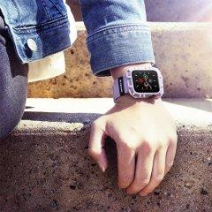 【Pelican × Case-Mate】Apple Watch 6,SE,5,4,3,2,1(38mm/40mm) 抗菌・耐衝撃 Protector Bumper - Mauve Purple