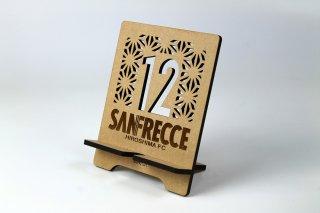サンフレッチェ広島 木製タブレットスタンド・No.12