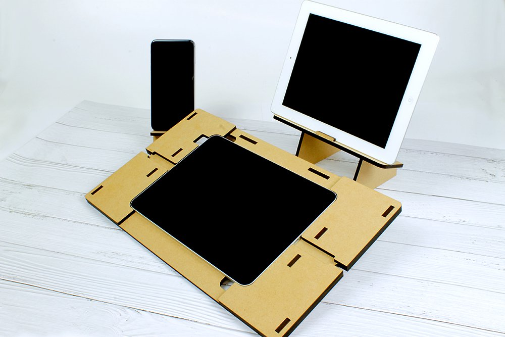 タブレットテーブル要塞モデル