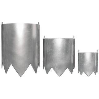 植栽オープナー用 筒刃セット 100mm/150mm/200mm筒刃3種、固定用ナット入 ※植栽オープナー本体は別売りです。 ※2020年10月1日 発売予定