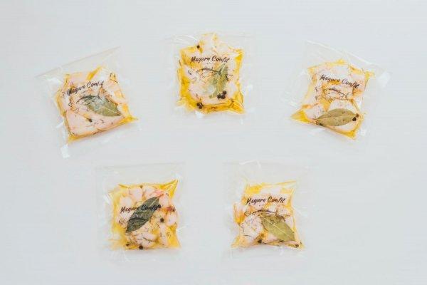 【冷蔵】まぐろコンフィ-まぐろ屋さんのごちそうツナ-ミニ×5パック おすそ分けセット 2500円(税別)