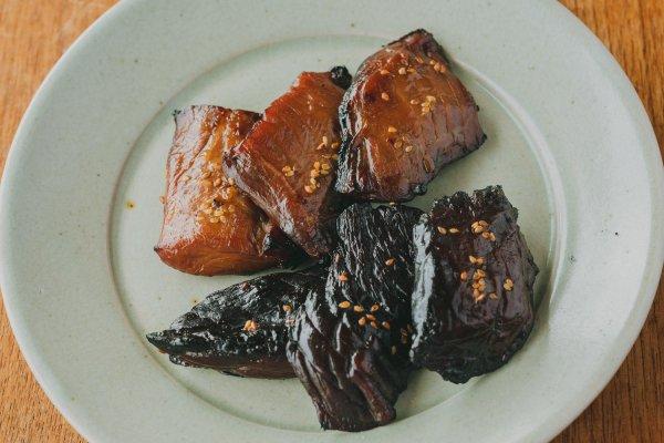 【FISH MARKET限定】(冷凍)調味料にこだわったまぐろのみりん干し2種×3切れセット