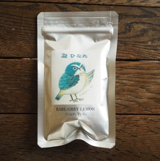 フレーバー紅茶(小鳥ラベル青)
