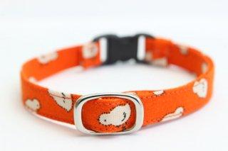 猫首輪 ひよこ(オレンジ)