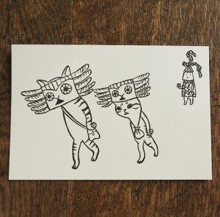 トケ「あいさつまわり」カード