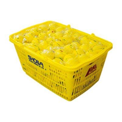 【特価販売】 アカエム 公認球 イエロー カゴ入り ネームなし※ポンプ1個、オイル1個付<BR>