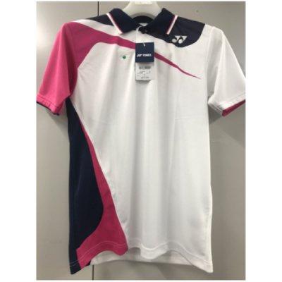 【OUTLET】YONEX UNI ゲームシャツ 011ホワイト Sサイズ <BR>10269<BR>