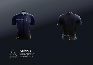 Pro-carbon C6 Steles jersey(B-39_IMPACT BLUE)