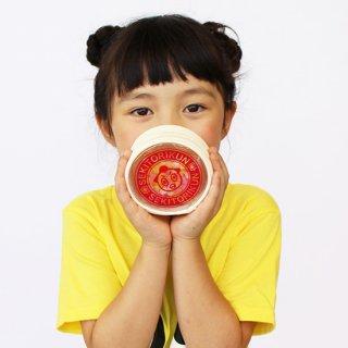 金平糖入りラウンドポーチ(赤)