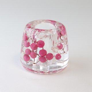 お花の歯ブラシ立て ペッパーピンク