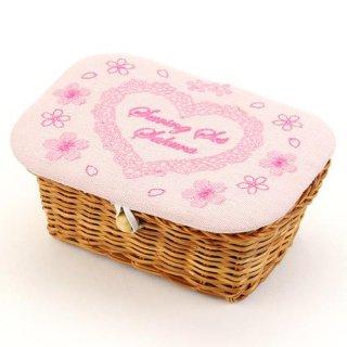 桜ソーイングセット(籠)