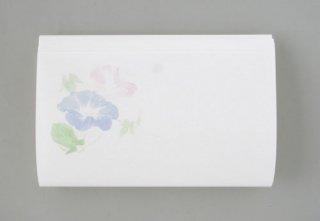 和紙工芸品 夏の朝顔懐紙