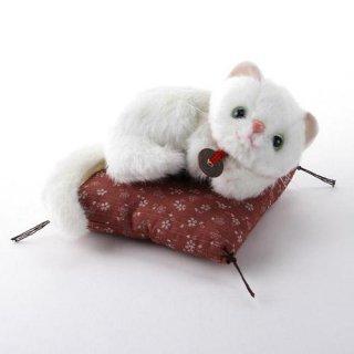 【和柄ぬいぐるみ】【猫のお人形】 玉之丞ぬいぐるみ 桜柄