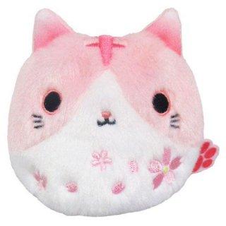 【桜のぬいぐるみ】ねこだんご 猫だんご さくらシリーズ