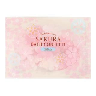 【桜の香り】 桜 サクラ バスコンフェッティ テマリザクラ さくらの花びら 入浴剤