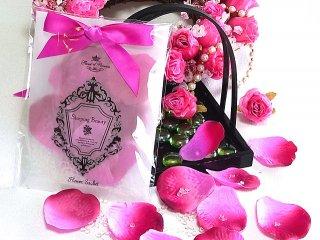【香りの贈り物】花びらと香り玉のフラワーサシェ 香り袋 いばら姫(眠り姫)