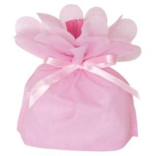 お花バッグ ピンク 小
