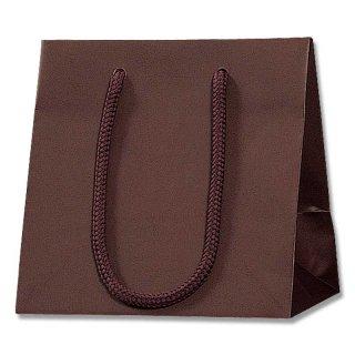 ギフト紙袋 ブライトバッグ チョコブラウン 中