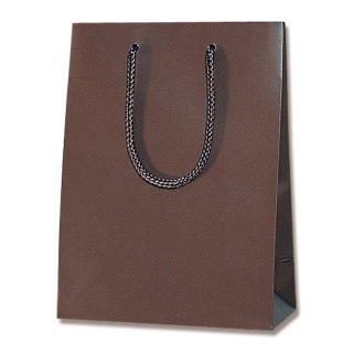 ギフト紙袋 ブライトバッグ チョコブラウン 大