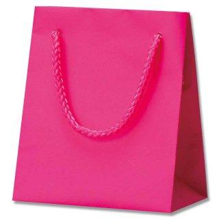 ギフト紙袋 ブライトバッグ ラズベリーピンク 小