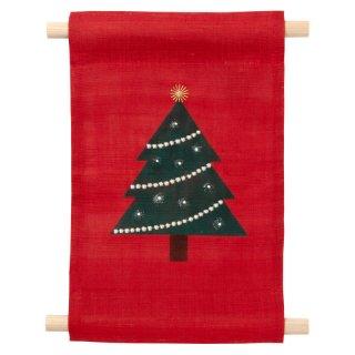 ミニタペストリー クリスマスツリー