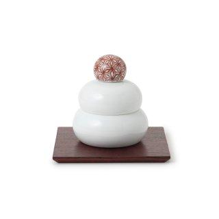 鍋島焼の鏡餅飾り 中 遊中川 中川政七商店