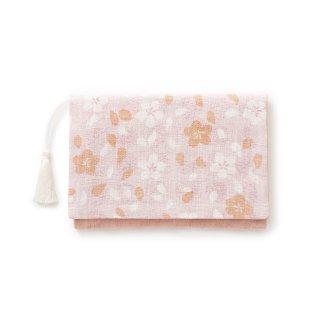 【遊中川】 懐紙入れ 朧さくら 桃 ピンク