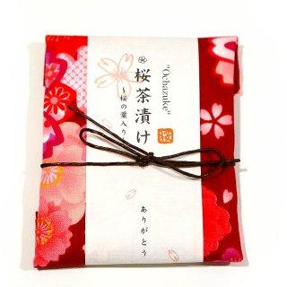 【季節限定】京のお茶漬けプチギフト 「桜茶漬け」 桜柄手ぬぐい包み