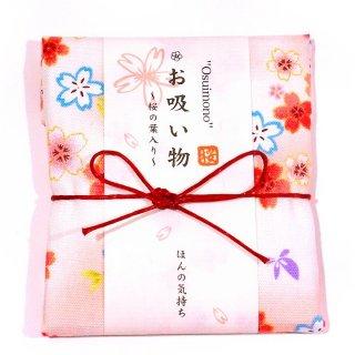 【季節限定】京のお吸い物プチギフト 「桜 お吸い物」 桜柄手ぬぐい包み