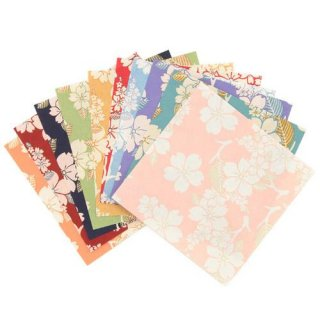 和紙工芸品 古都桜 折り紙 15枚 長谷川松寿堂