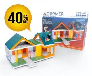 ミニドーマーカラーズ2.0/Arckit Mini Dormer Colours 2.0(8歳以上)