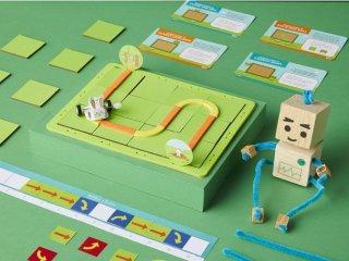 ロボットで遊ぶながら身に付く!初めてのプログラミング思考(5歳ー8歳向け)