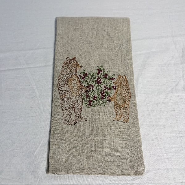 <img class='new_mark_img1' src='https://img.shop-pro.jp/img/new/icons13.gif' style='border:none;display:inline;margin:0px;padding:0px;width:auto;' />CORAL&TUSK  TEA TOWEL Briar Bears
