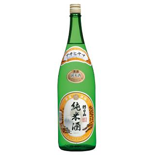 朝日山 純米酒<br>【1800ml】