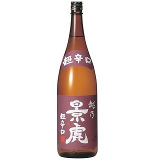 越乃景虎 超辛口 普通酒<br>【1800ml】