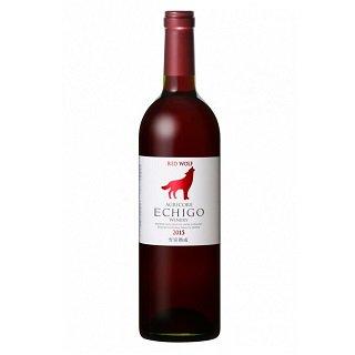 越後ワイン RED WOLF 赤<br>【750ml】