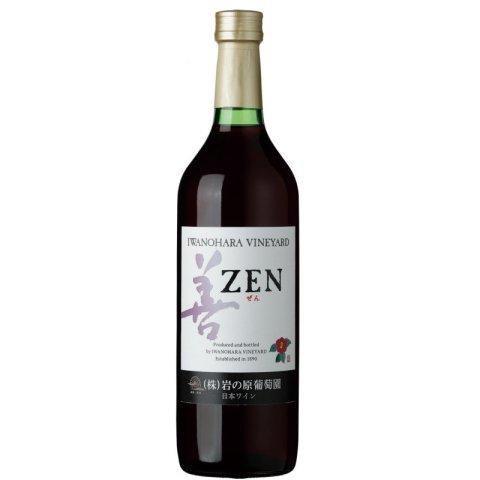 岩の原ワイン 善(ぜん) 赤<br>【720ml】